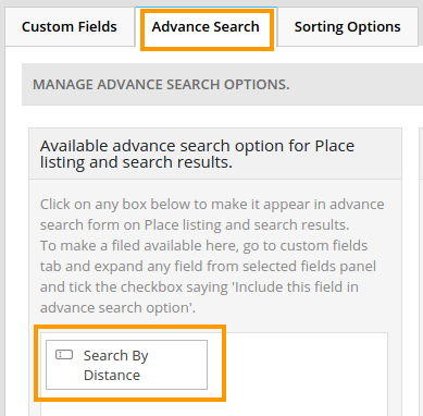 Advanced Search Filters Addon – Search By Distance