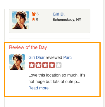 review-of-the-day