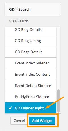 search-widget