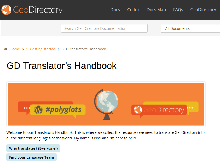 Translator's Handbook Screenshot