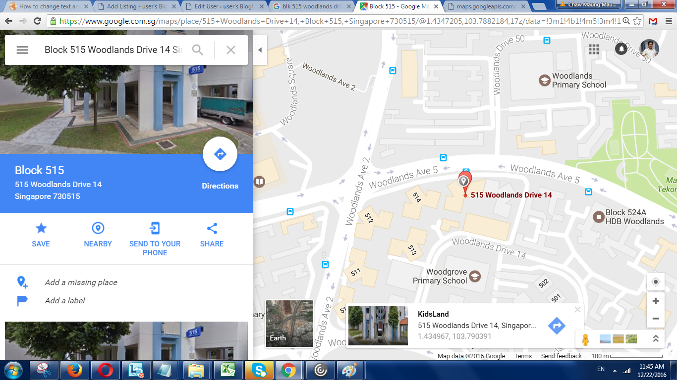 how to change work address in google maps