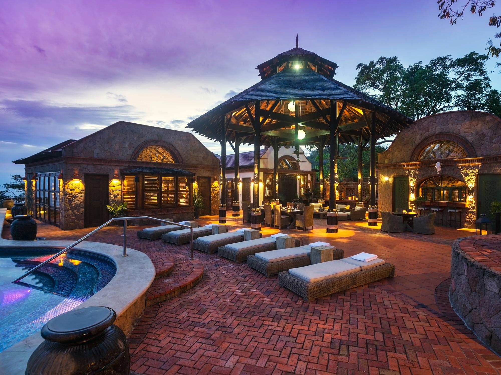 Caribbean Stay All Inclusive Caille Blanc Villa 3 Patio Pool  Gazebo St Lucia