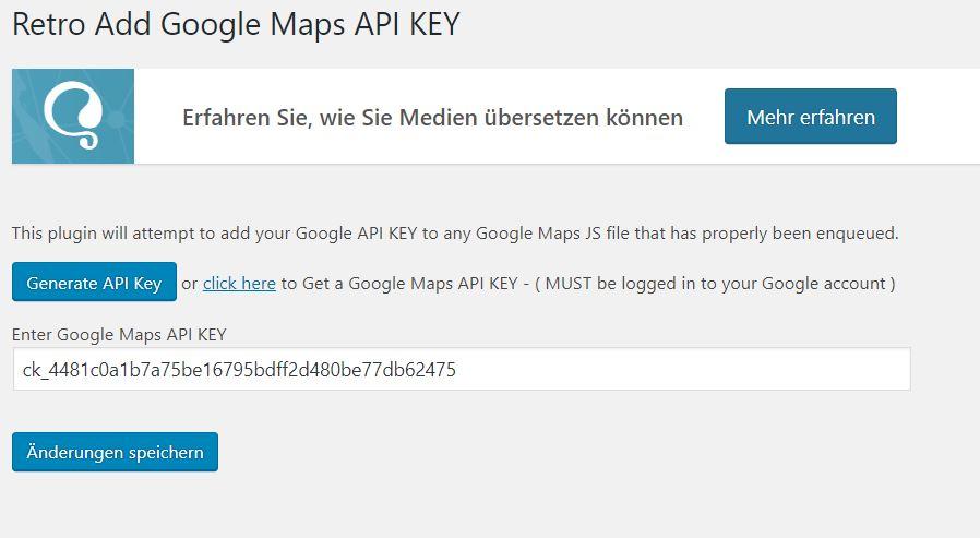 Urgent - Google API Key not loading, maps not working - GeoDirectory