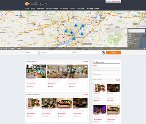 Geo Directory Framwork WordPress Theme
