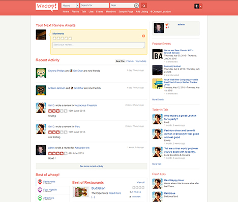 wordpress directory theme whooop!