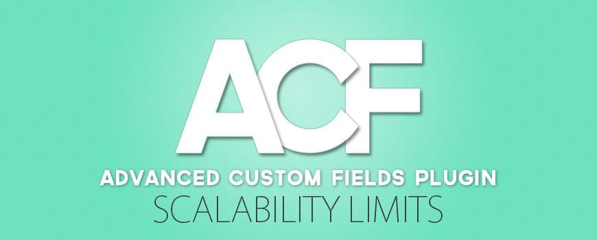 Advanced Custom Fields Scalability - GeoDirectory