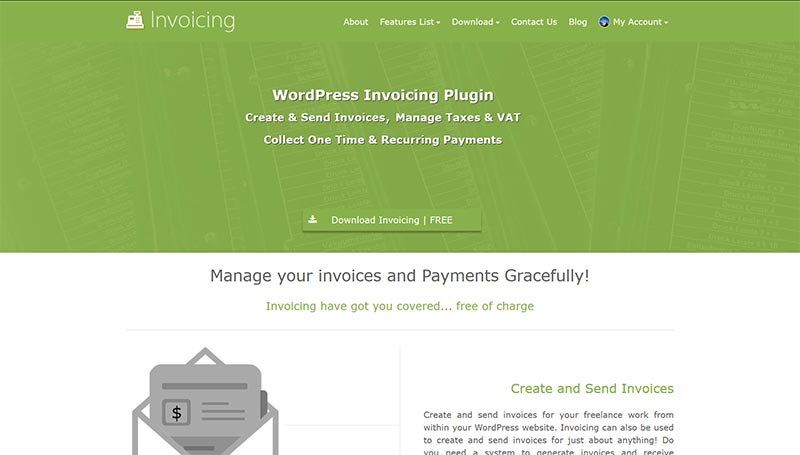 WP Invoicing GeoDirectory - Create and send invoices