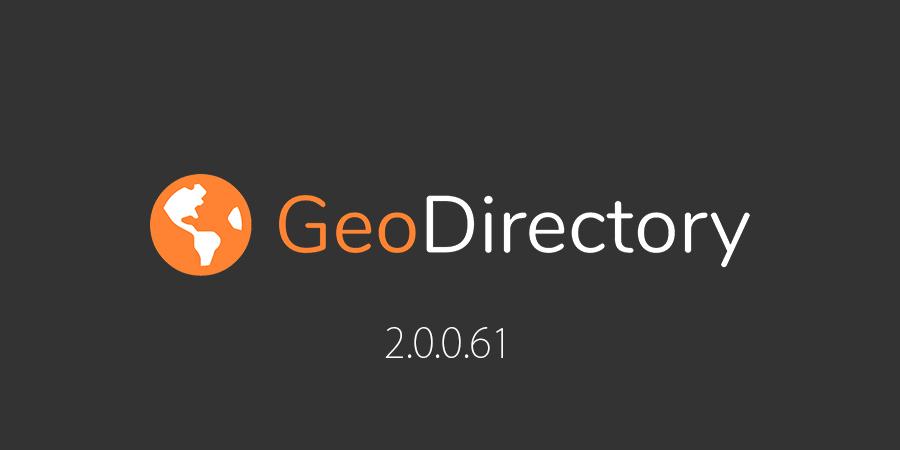 geodirectory v 2.0.0.61